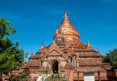 Dhammayazika-Pagode in Bagan stockfotos