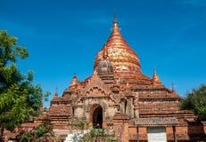 Dhammayazikapagode in Bagan stock foto's