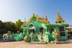 Dhammayon Township Temple. At Tachileik ,Union of Myanmar Royalty Free Stock Photos