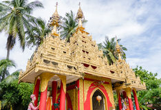 Dhammikarama Burmese Temple in Georgetown Penang, Malaysia Stock Photos