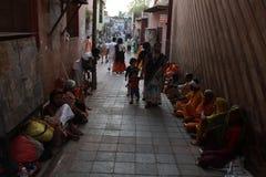 Dhan ghati mathura Indien arkivfoto