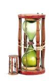 Dhanfulhi, el diseño maldivo de reloj de arena con el trabajo de la laca Imágenes de archivo libres de regalías