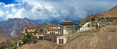 Dhankar Gompa Stock Photography