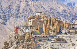 Dhankar Gompa Royalty Free Stock Photography