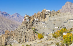 Dhankar Gompa Stock Photo
