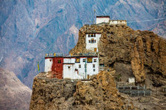 Dhankar Gompa. India. Spiti Valley Royalty Free Stock Photos