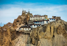 Dhankar Gompa. India. Spiti Valley Stock Image