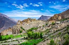 Dhankar Gompa. India. Spiti Valley Royalty Free Stock Image
