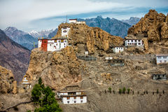 Dhankar Gompa. India. Spiti Valley Stock Photography