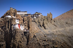 Dhankar Gompa Stock Photos