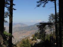 Dhanolti Mussoorie, Uttarakhand, Indien Royaltyfri Fotografi