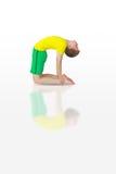 Dhanurasana yoga Royalty Free Stock Image