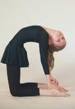 Dhanurasana yoga Stock Photography
