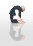 Dhanurasana yoga Royalty Free Stock Photos