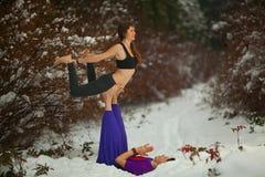Dhanurasana yoga Royalty Free Stock Photo
