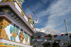 Dharamsala, Kalaczakra temple Stock Photo