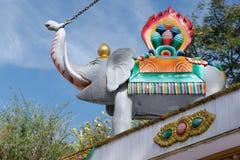 Dharamsala, Kalaczakra temple Royalty Free Stock Image