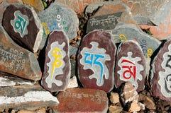 Dharamsala, templo de Kalaczakra fotografía de archivo