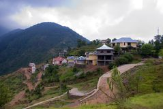 Dharamsala view point Royalty Free Stock Photography