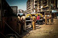 The Dharavi Slums of Mumbai, India Royalty Free Stock Photography