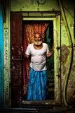 Dharavi Slums of Mumbai, India Stock Image