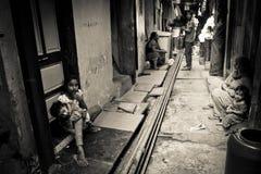 Dharavi Slums of Mumbai, India Stock Images
