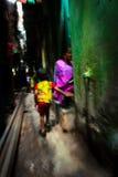 Dharavi Slums of Mumbai, India Royalty Free Stock Images