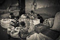 Dharavi Slums of Mumbai, India Stock Photo