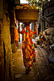 The Dharavi Slums of Mumbai, India Stock Photos