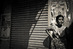 Dharavi Slums of Mumbai, India Royalty Free Stock Photos