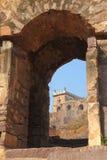 Dharbar Salão, forte de Golconda, Hyderabad Fotografia de Stock Royalty Free