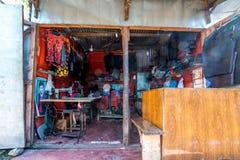 Dharchula, Uttrakhand India, Wrzesień, - 27, 2018: Rynek w Ut zdjęcie royalty free