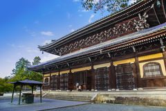 Dharma Hall (Hatto) at Nanzen-ji Temple in Kyoto Royalty Free Stock Photos