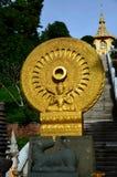 Dharma no templo tailandês, Pattaya Tailândia Foto de Stock Royalty Free