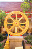 Dharmachakra or Wheel of Dhamma Royalty Free Stock Images