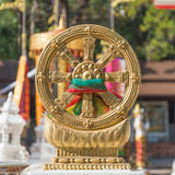 Dharmachakra Royalty Free Stock Photography