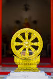 Dharmachakra, the wheel of law Royalty Free Stock Photos