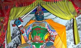Dharmapala (protector of dharma), Buddhist temple in Beijing Royalty Free Stock Photos