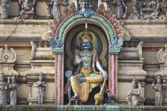 Dharmaraj阁下寺庙细节  库存图片