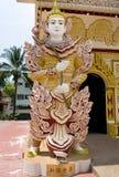 Dharmikarama burmese temple stock photo