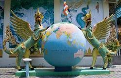 Dharmikarama burmese temple Royalty Free Stock Image