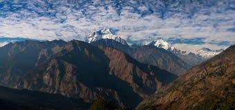 Dhaulagiri Stock Photo
