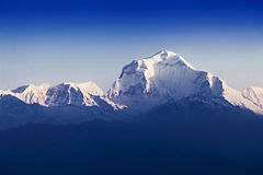 Dhaulagiri mountain Stock Image