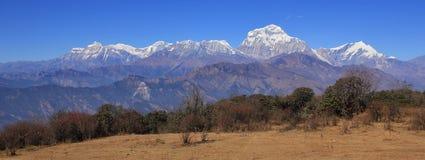 Dhaulagiri range stock photography