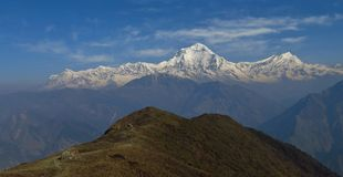 Dhaulagiri Range Royalty Free Stock Photos