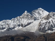 Dhaulagiri, seventh highest peak in the world Royalty Free Stock Photo