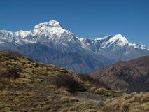 Dhaulagiri and Tukuche Peak Stock Photo