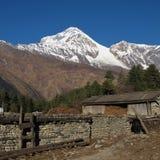Dhaulagiri, view from Titi Stock Photo