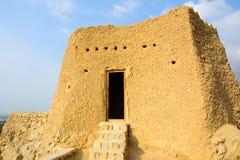Dhayah fort i norr Ras Al Khaimah United Arab Emirates Arkivbilder