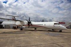DHC-8-402Q Dash 8 airplane Royalty Free Stock Photos